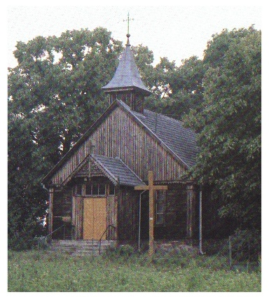 Mennonite Church in Obernessau, West Prussia in the late 1800's.  Still utilized today outside Torun, Poland as a Catholic Church